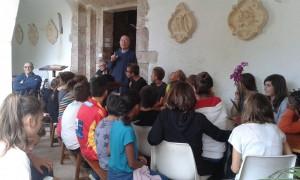 Groupe de caté à Dommanova